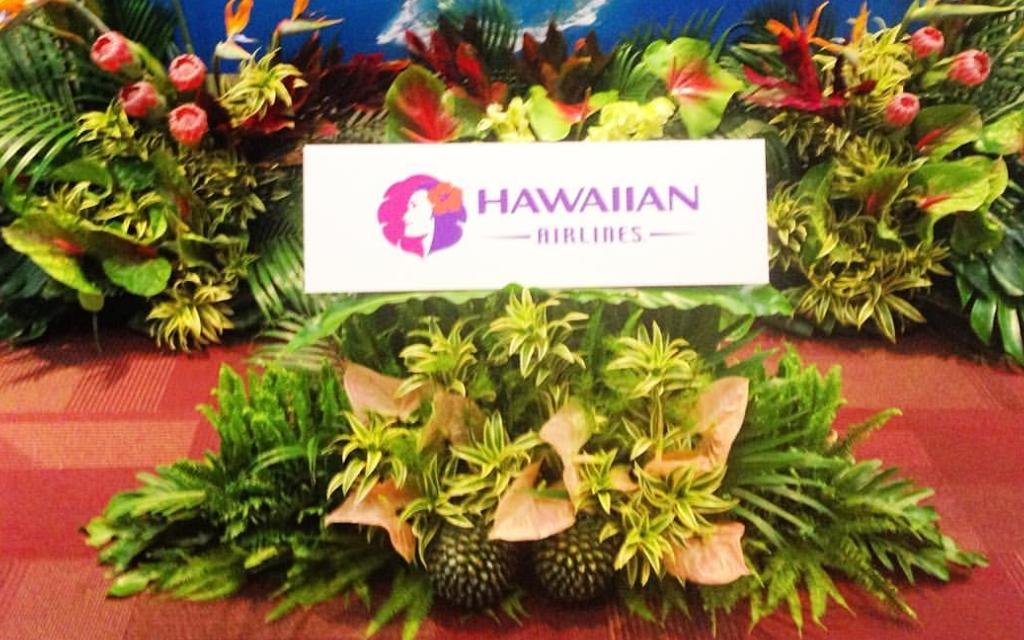 ハワイアン航空就航時の装飾担当/映画「モアナと伝説の海」の装飾担当